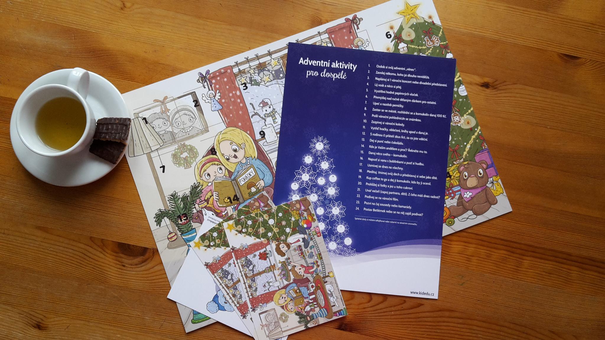 Kidedu advent kalendář