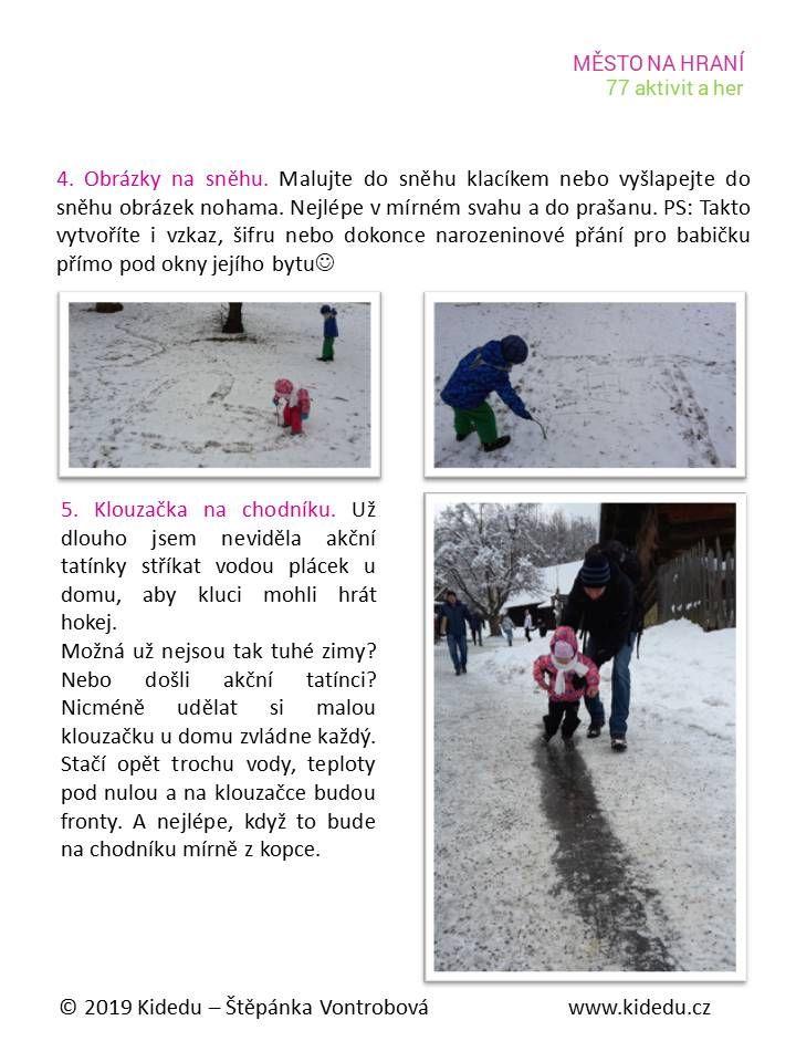Zimní aktivity
